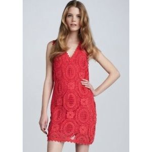 FRENCH CONNECTION crochet dress